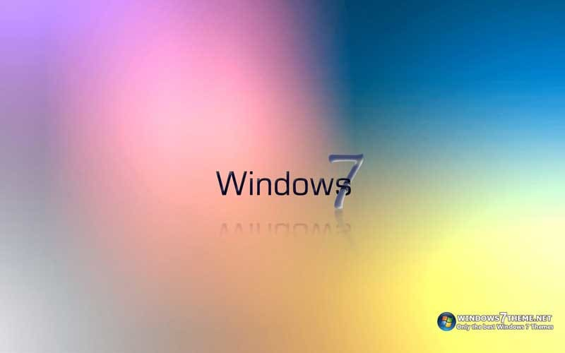 Windows 7 Colorful Theme
