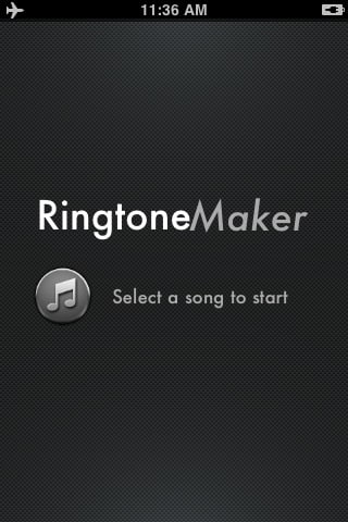 Ringtone Maker - Make free ringtones from your ...