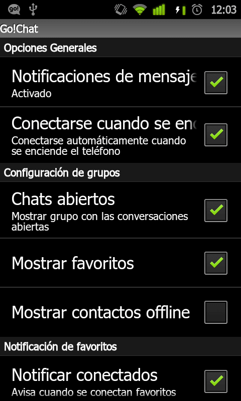 iphone take screenshot go chat for para android descargar 9948