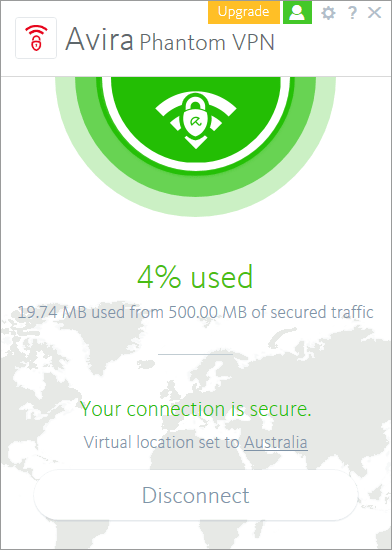 Avira Free Phantom VPN