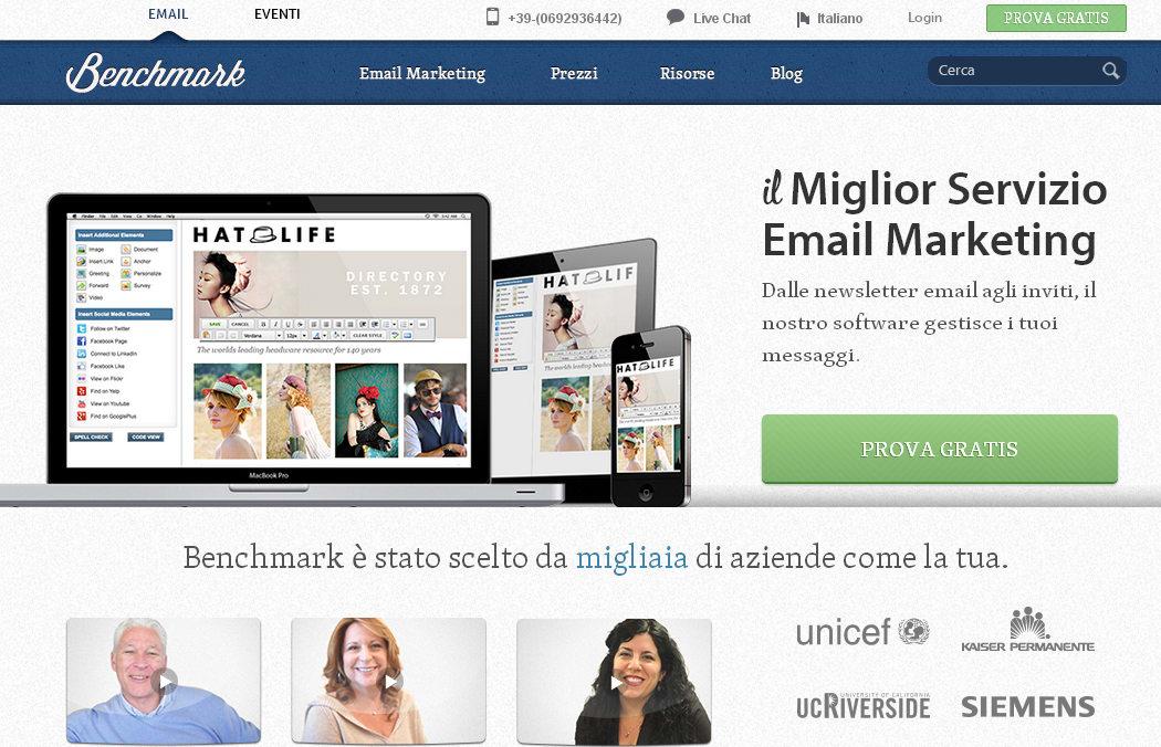 Benchmark Email Italia