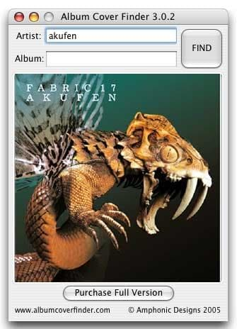 Album Cover Finder
