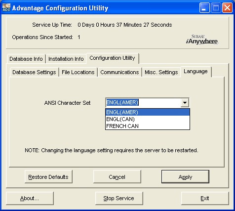 Advantage Database Server