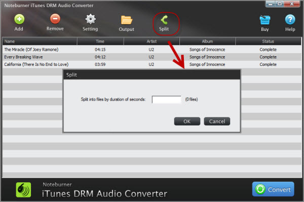 NoteBurner iTunes DRM Audio Converter