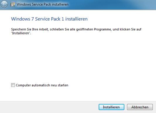 Windows 7 und windows server 2008 r2 service pack 1 for Window 7 service pack 1