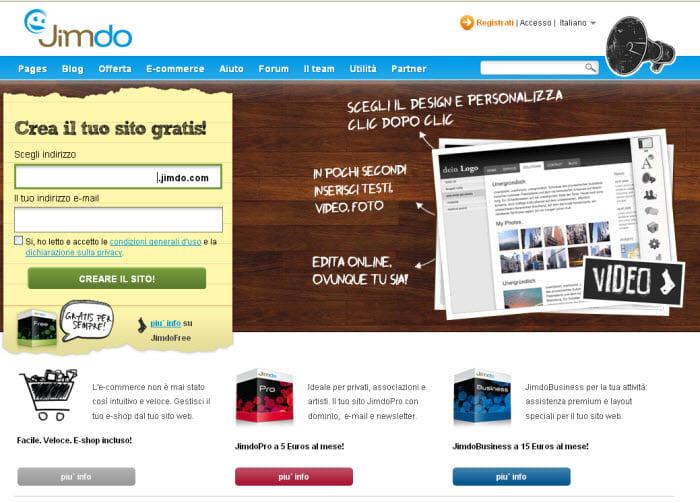 Crea il tuo sito web fabulous with crea il tuo sito web for Crea il tuo sito web personale