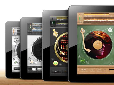 edjing DJ studio music mixer