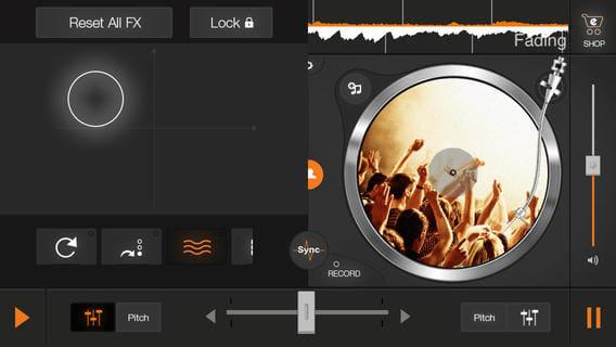 edjing - DJ mix & scratch for free