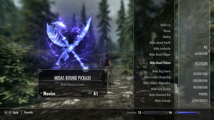 Skyrim Restoration Magic & Spells List - carlsguides.com