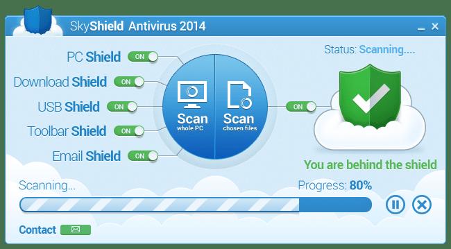 SkyShield Antivirus 2014