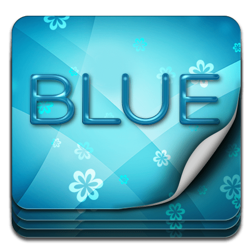 Keyboard Themes Blue