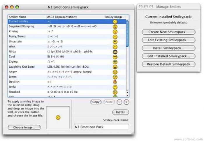 iChat Emotimaker