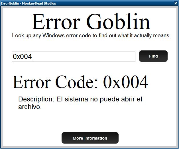 Error Goblin
