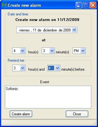 Hurdan Alarm