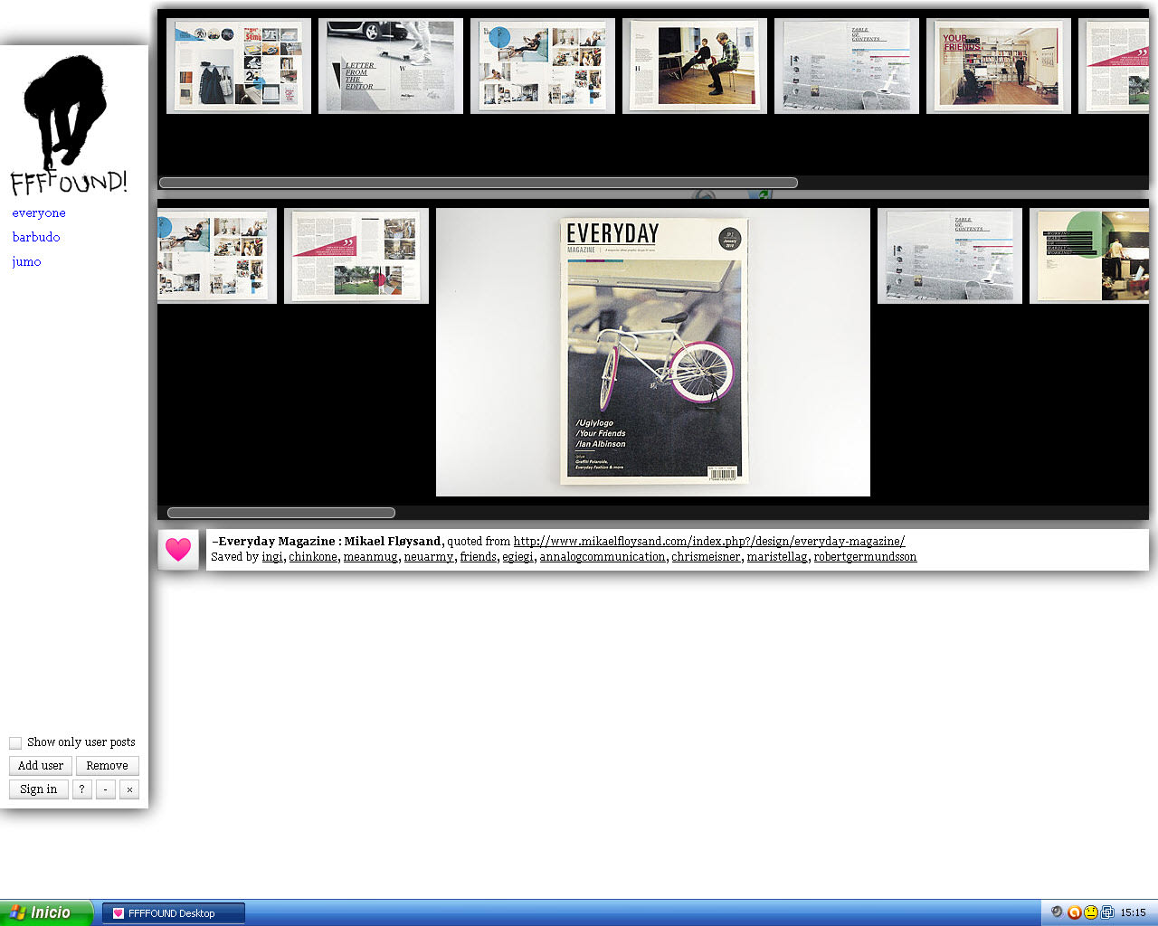 Ffffound Desktop