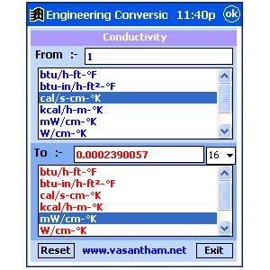 Engineering Units Converter