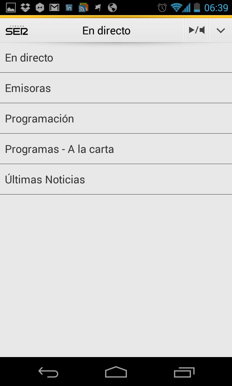 Cadena SER para Android
