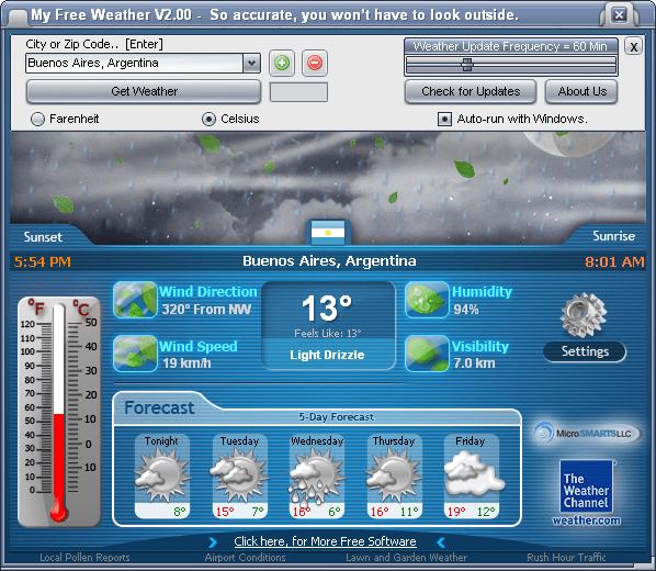 Программа для пк погода скачать бесплатно