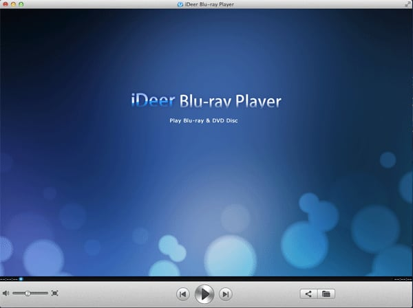 iDeer Blu ray Player for Mac