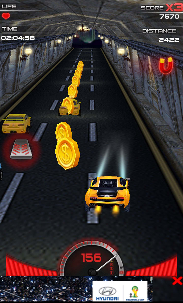 Racing Car 3D Game