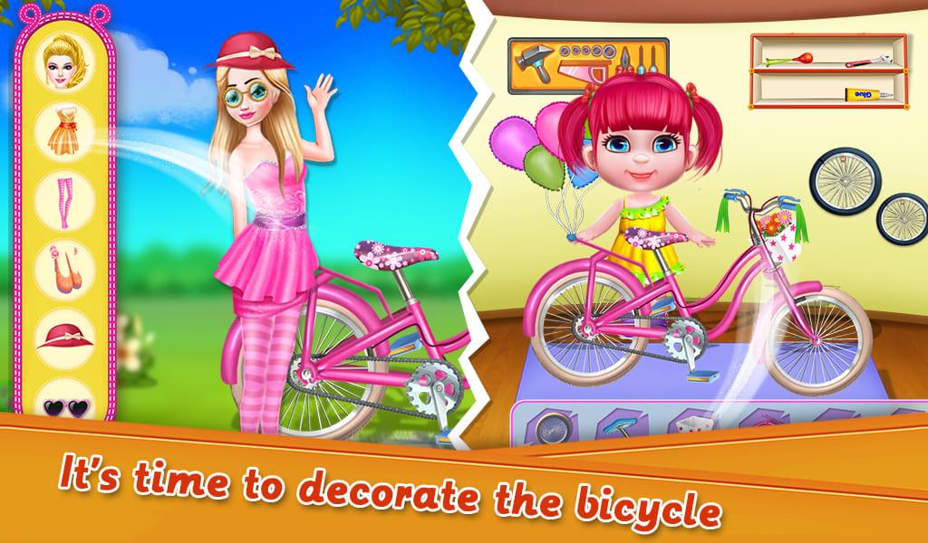Fairy Princess Bicycle Fiasco