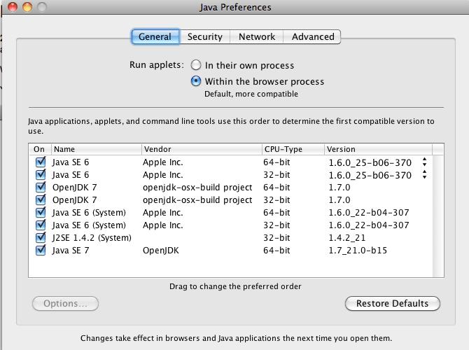 OpenJDK OSX Build