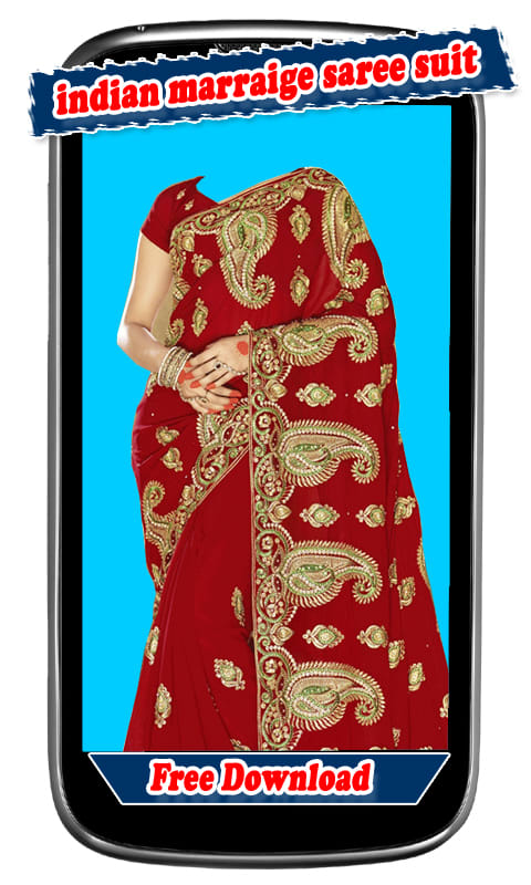Women Indian Marriage Saree