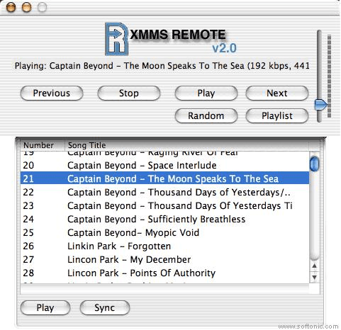 XMMS Remote
