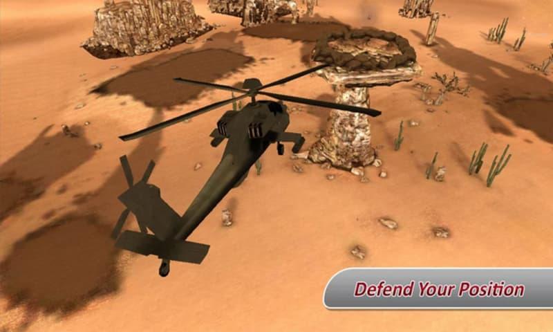 Heli Shootdown Defence Gunship