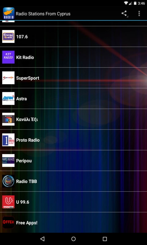 Radio Stations From Cyprus