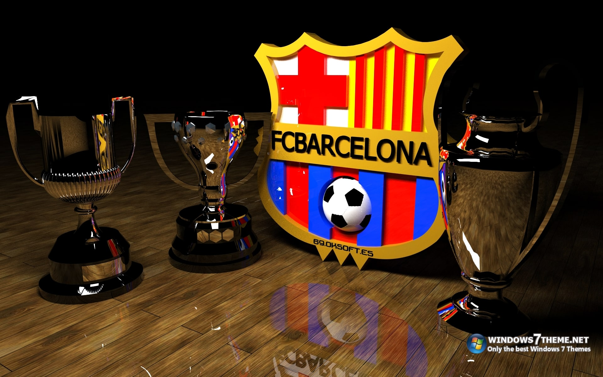 FC Barcelona Theme para Windows 7