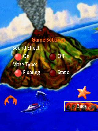 3D Volcano Island