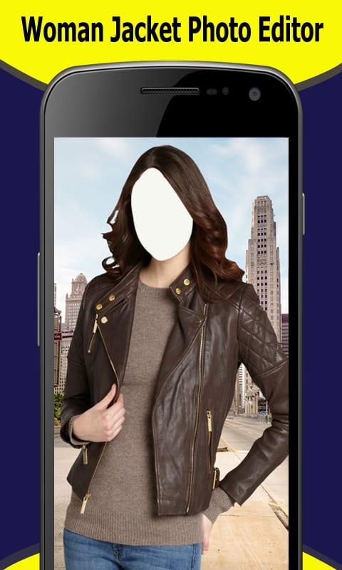 Woman Jacket Photo Editor New