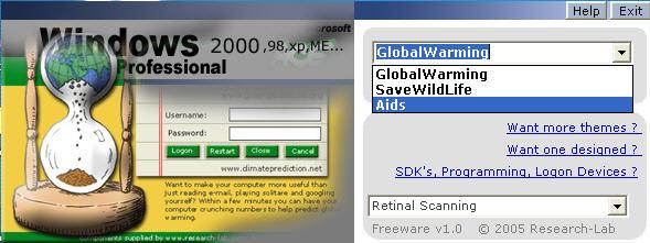 Customized Windows Logon Design