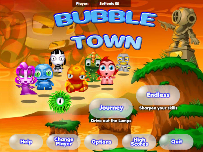 Скачать на компьютер игру bubble town