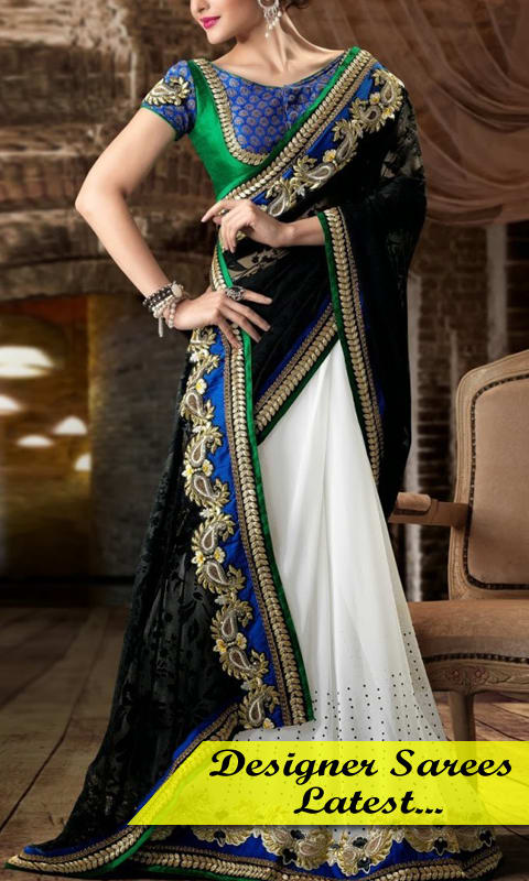 Designer Sarees Latest New