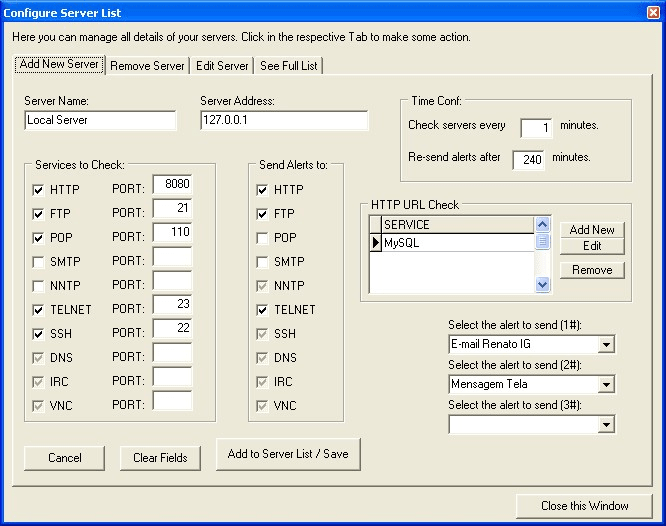 Open Monitor