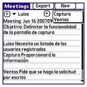 Meeting log
