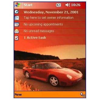 Porsche-Red