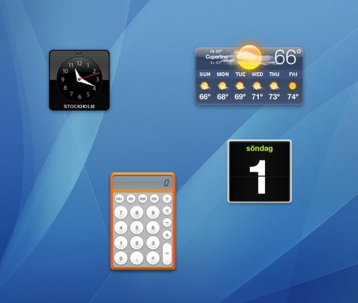 Widget-to-Desktop