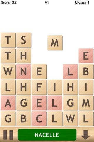 Letris: le jeu de mots