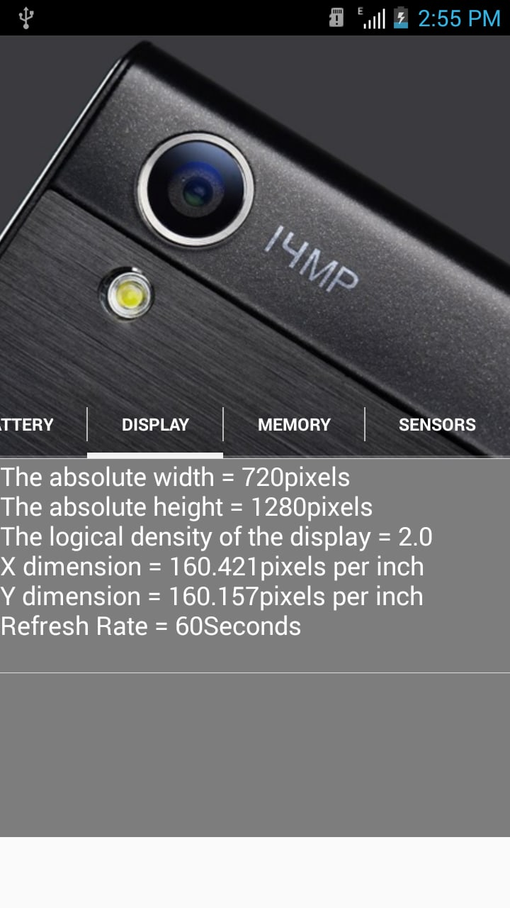 Mobile Phone Hardware Info