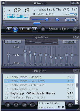 Winamp Media Player 11 Skin