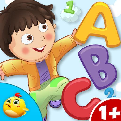 Preschoolers Tracing Letters
