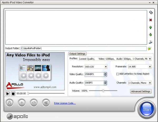 Apollo iPod Video Converter