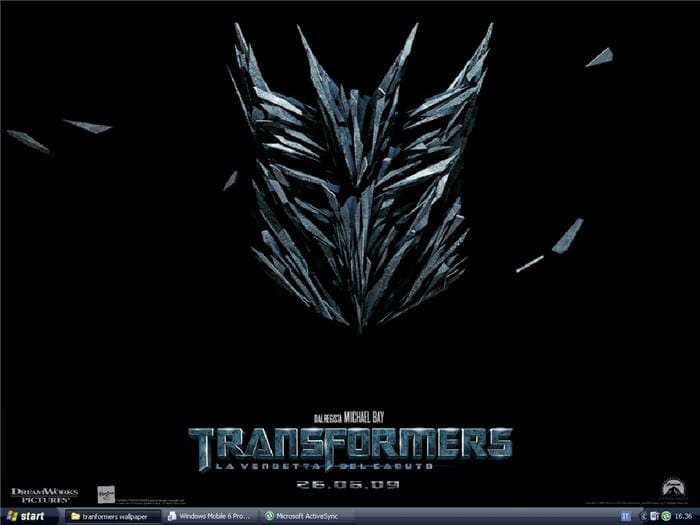 Transformers - La Vendetta del Caduto Wallpaper