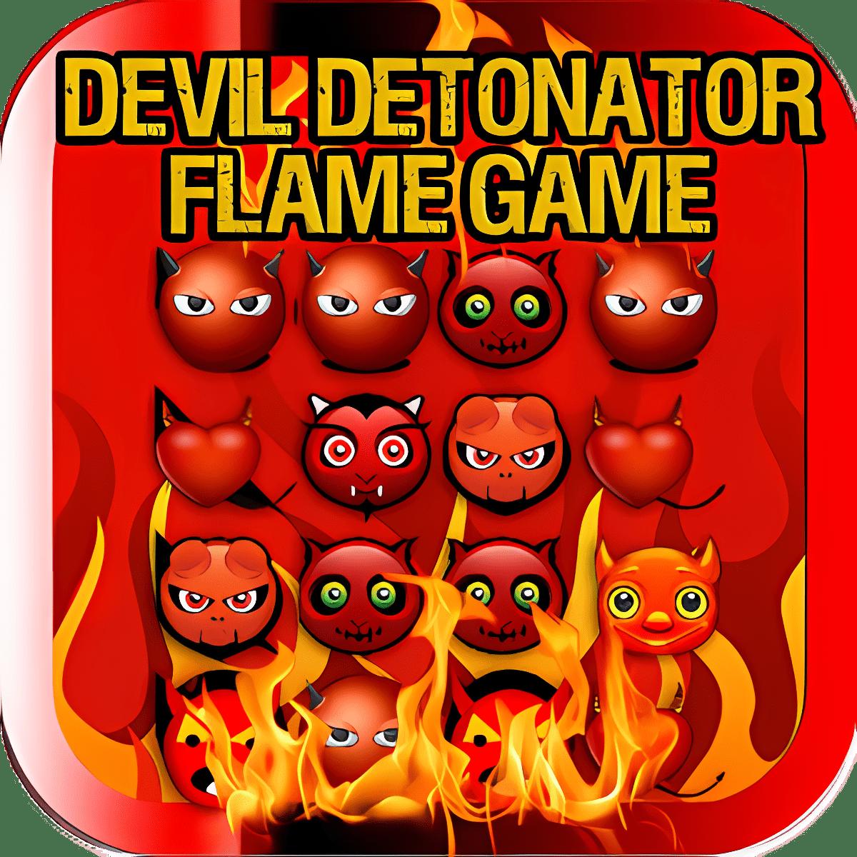 Diablo Juego Detonador llamas