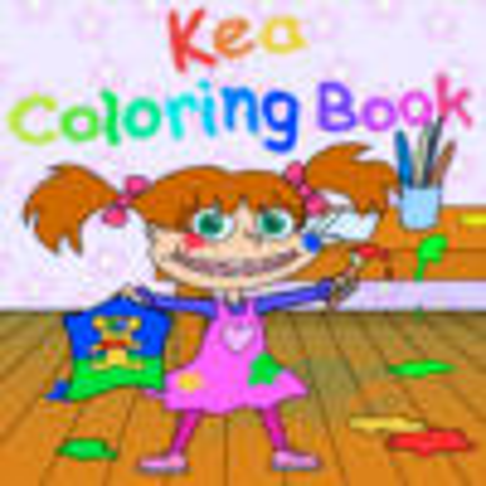 Kea Coloring Book