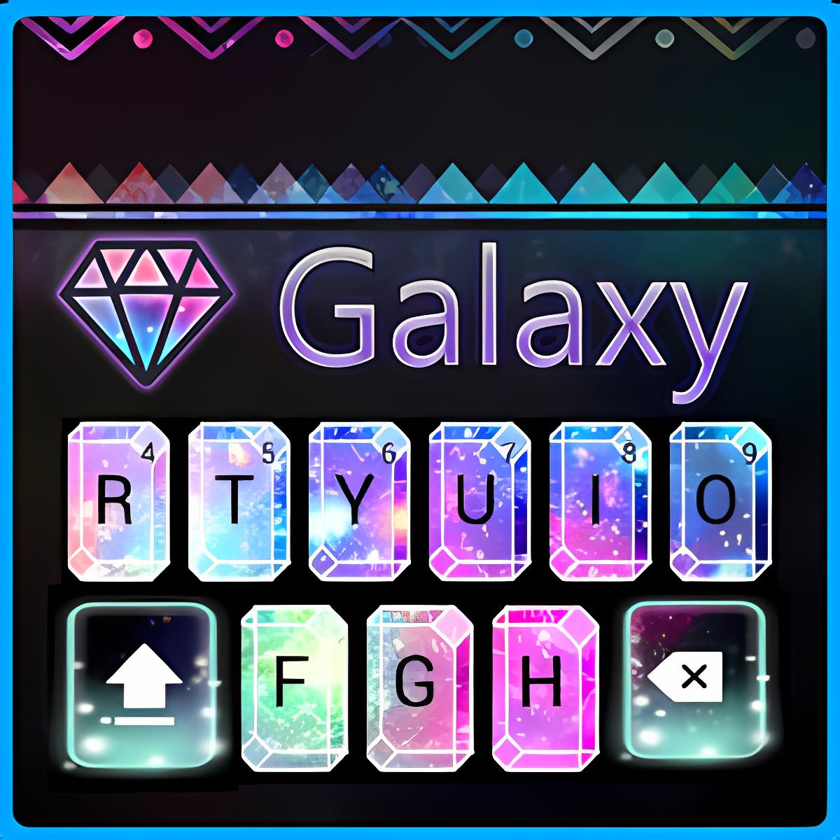 Galaxy panda keyboard 10001005