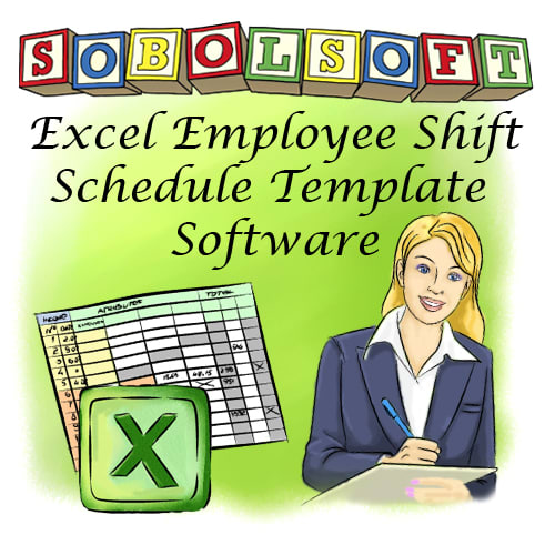Excel Employee Shift Schedule Template Software 7.0